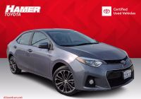 Used Cars for Sale X Corolla Unique Certified Pre Owned 2016 toyota Corolla S Plus Fwd 4dr Car