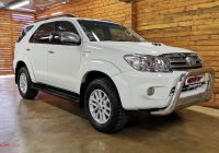 Used Cars for Sale Za Lovely toyota fortuner fortuner 3 0d 4d for Sale In Gauteng