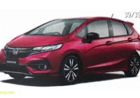 Used Honda Fit Inspirational 2018 Honda Fit Jazz Facelift Leaks Out In Brochure