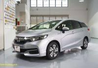 Used Honda Fit Lovely Honda Shuttle Hybrid Review the Fit S Reliable Big Brother