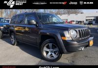 Used Jeep Patriot Awesome Certified 2017 Jeep Patriot High Altitude 4 Cyl 4wd Suv