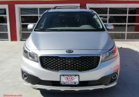 Used Kia Stinger Unique Used 2016 Kia Sedona Sx