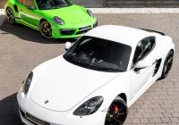 Used Porsche Cayman Luxury Our 718 Cayman Gts Has Joined Its Bigger Brother for Full