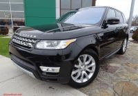 Used Range Rover Sport Lovely Certified Pre Owned 2017 Land Rover Range Rover Sport Hse with Navigation & 4wd
