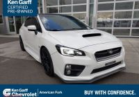 Used Subaru Wrx Beautiful Ken Garff Certified 2015 Subaru Wrx Limited Awd