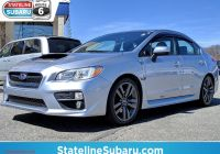 Used Subaru Wrx Best Of Used 2017 Subaru Wrx Premium Manual Sedan