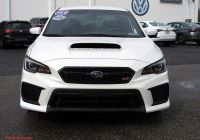 Used Subaru Wrx Inspirational Pre Owned 2018 Subaru Wrx Sti Awd 4dr Car