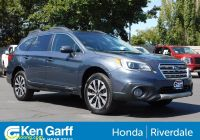 Used Subarus Near Me Best Of Pre Owned 2017 Subaru Outback Limited Awd