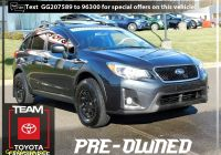 Used Subarus Near Me Fresh 2016 Subaru Crosstrek 2 0i