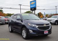 Used Suv for Sale Awesome south Portland Storm Blue Metallic 2018 Chevrolet Equinox