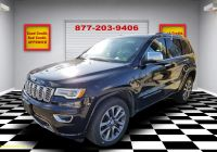 Used Suv for Sale Beautiful Used 2017 Jeep Grand Cherokee Overland for Sale
