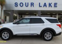 Used Suv for Sale Inspirational sour Lake Oxford White 2020 ford Explorer Used Suv for Sale