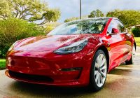Used Tesla Model 3 Luxury How Much Range is Lost A Parked Tesla Model 3 In 63 Days