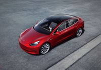 Used Tesla Model S Fresh the $35 000 Tesla Model 3 Has Arrived — but It Es with A