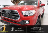 Used toyota Tacoma Awesome Used 2018 toyota Ta A for Sale San Jose Ca