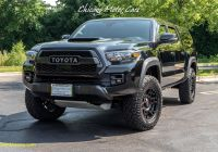 Used toyota Tacoma Awesome Used 2018 toyota Ta A Trd Pro Pickup Truck with Bed Cap