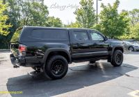 Used toyota Tacoma Elegant Used 2018 toyota Ta A Trd Pro Pickup Truck with Bed Cap