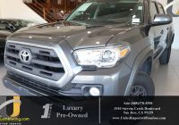 Used toyota Tacoma Fresh Used 2017 toyota Ta A for Sale San Jose Ca