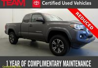 Used toyota Tacoma Inspirational Certified toyota Ta A for Sale Autotrader
