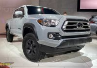 Used toyota Tacoma Lovely toyota Ta A Tundra 4runner Trail Editions Debut In Chicago