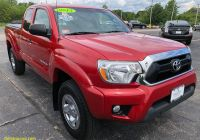 Used toyota Tacoma Unique Used 2013 toyota Ta A Access Cab Sr5 V6 4×4 for Sale