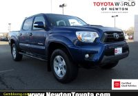 Used toyota Tacoma Unique Used 2014 toyota Ta A for Sale In Newton Nj