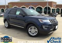 Vehicle Carfax Report for Free New 2017 ford Explorer Xlt