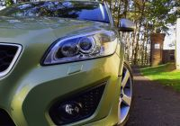 Volvo C30 Beautiful Volvo C30 2 0d R Design In Lime Grass Green for Sale by