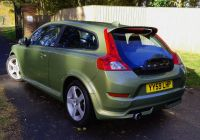 Volvo C30 Elegant Volvo C30 2 0d R Design In Lime Grass Green for Sale by