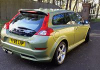 Volvo C30 Lovely Volvo C30 2 0d R Design In Lime Grass Green for Sale by