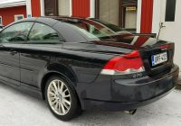 Volvo C70 Unique Volvo C70 2 0d Kinetic Aut Myyty Convertible 2008