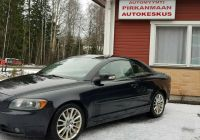 Volvo Convertible Luxury Volvo C70 2 0d Kinetic Aut Myyty Convertible 2008