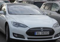 When Tesla Went Public Beautiful File Sandefjord Tesla Model S 4 Wikimedia Mons