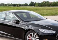 Why Tesla Glass Broke Awesome Review Tesla S New Model S P85d—double Your Engines Double