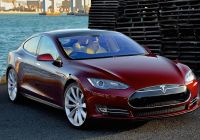 With Tesla Car Beautiful An even Faster Tesla Model S Might Be On the Way
