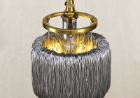 With Tesla Coil Awesome Metal Wire Coil toroid Pendant Light™ Inspired by Tesla S