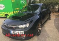 Wrx Sti for Sale Best Of Subaru Hungary Used – Search for Your Used Car On the Parking