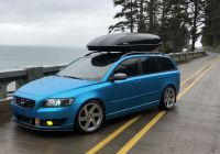 Xc70 Beautiful Volvo V50 Vinyl Wrap Ocean Shimmer