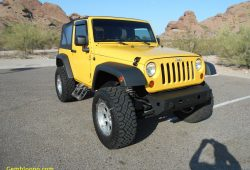 Unique Yellow Jeep Wrangler